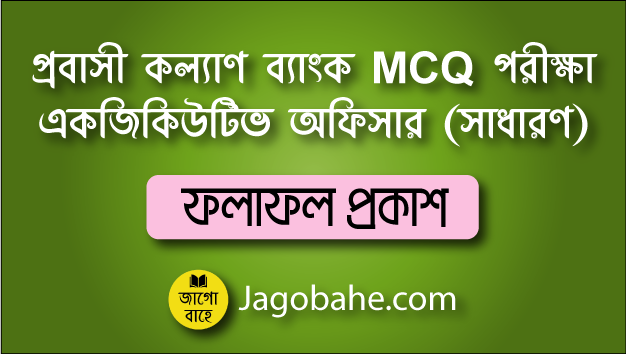 PKB General Officer MCQ Result